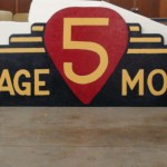 The finished sign
